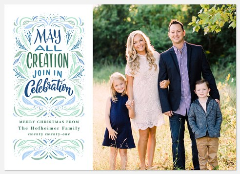 All Creation Holiday Photo Cards
