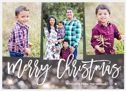 Sparkling Season Holiday Photo Cards