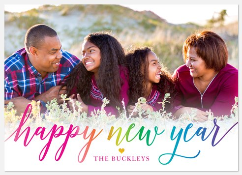 Bright Outlook Holiday Photo Cards