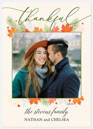 Fall Flourish Thanksgiving Cards