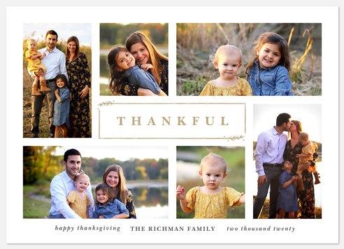 Grateful Harvest Thanksgiving Cards