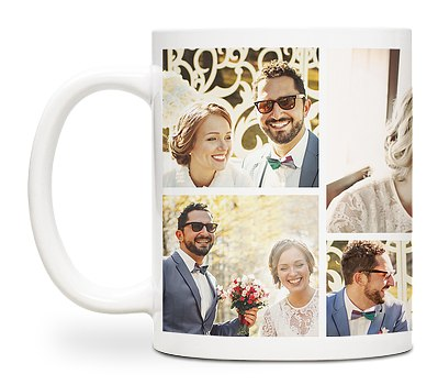 Seven Photo Custom Mugs