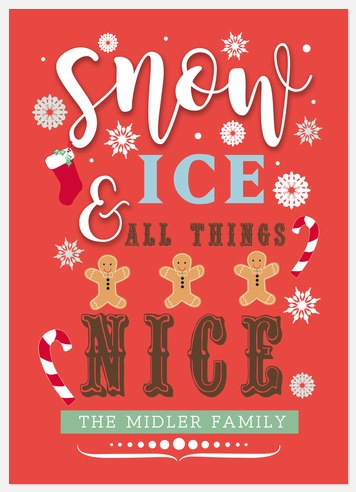 All Things Nice Holiday Photo Cards
