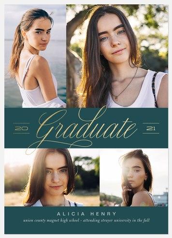 Posh Banner Graduation Cards