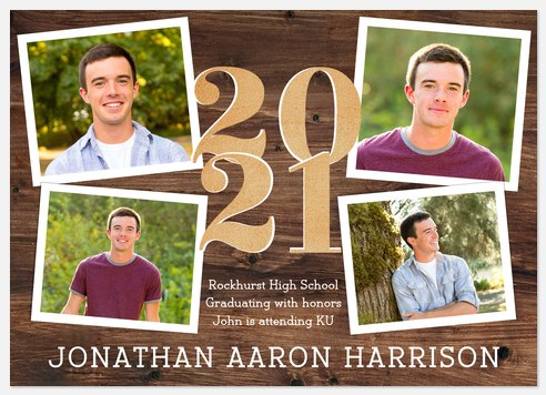 Country Snapshots Graduation Cards