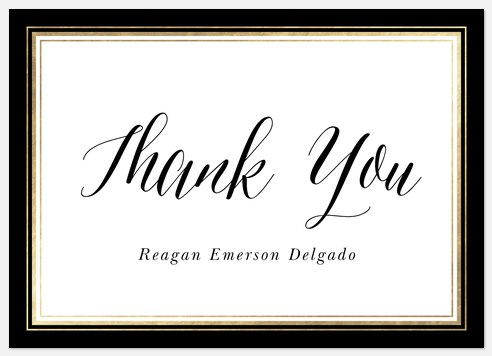 Simply Traditional Thank You Cards