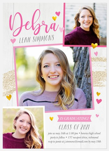 Heartfelt Joy Graduation Cards