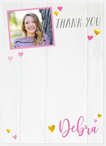 Heartfelt Joy Thank You Cards
