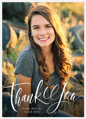 Simply Written Thank You Cards