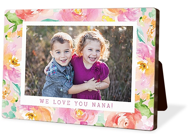 Floral Garden Photo Easel Panels