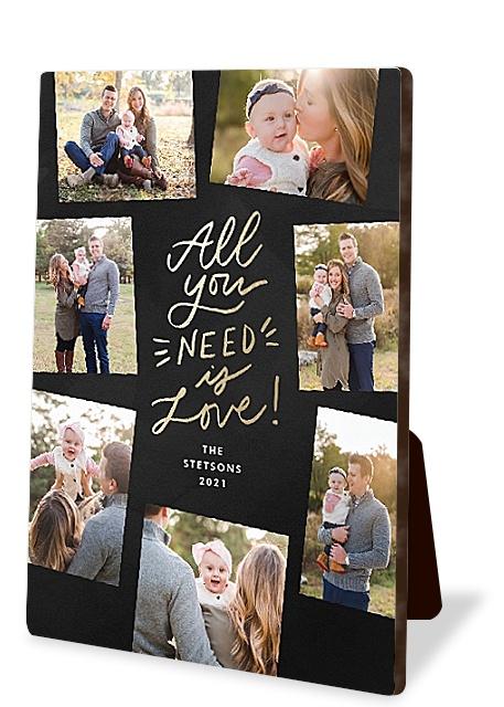 Holiday Love Photo Easel Panels