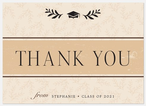 Rustic Country Thank You Cards
