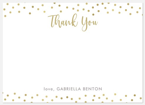 Shine Brightly Thank You Cards
