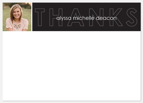 Inline Overlay Thank You Cards