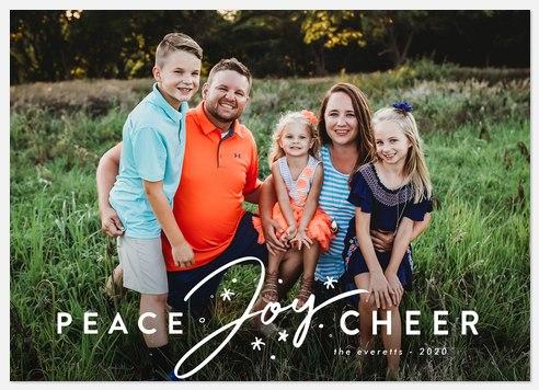 Joyous Sparkle Holiday Photo Cards