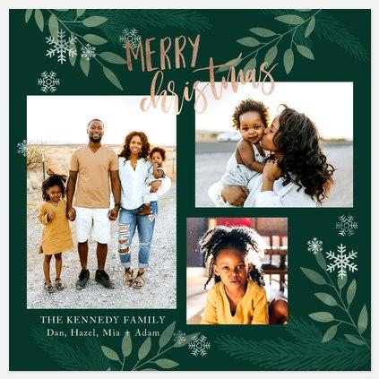 Woodland Mix Holiday Photo Cards