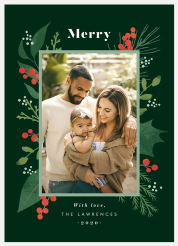Beautiful Pines Holiday Photo Cards