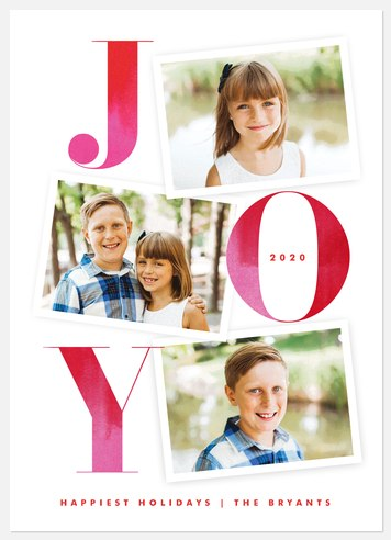 Bright Memories Holiday Photo Cards