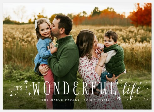 Frosted Wonder Holiday Photo Cards