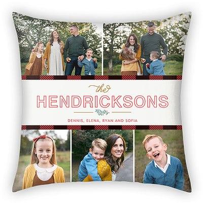 Holly Days Custom Pillows