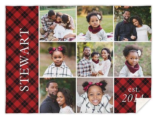 Family Flannel Custom Blankets