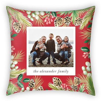 Folk Forest Custom Pillows
