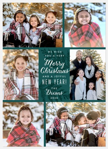 Pine Gallery Holiday Photo Cards