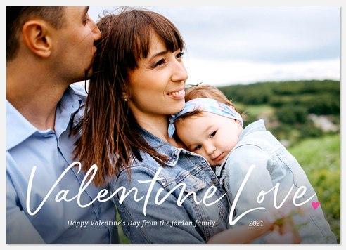 Valentine Love Valentine Photo Cards