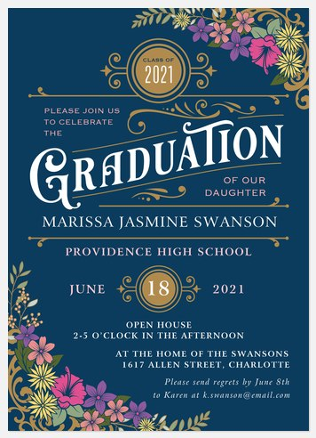Ornate Traditions Graduation Cards