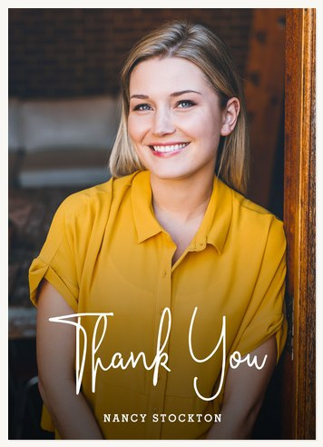 Esteemed Thanks Thank You Cards