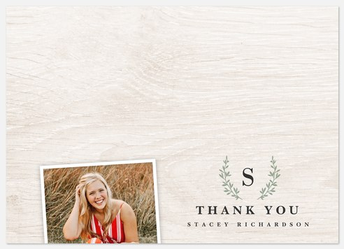 Heritage Monogram Thank You Cards
