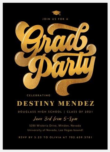Groovy Grad Graduation Cards