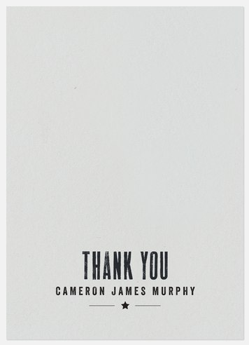 Vintage Stamp Thank You Cards