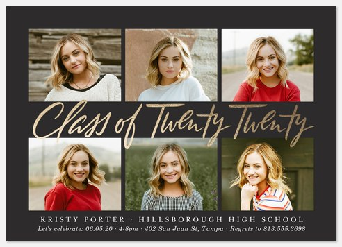 Festive Gallery Graduation Cards