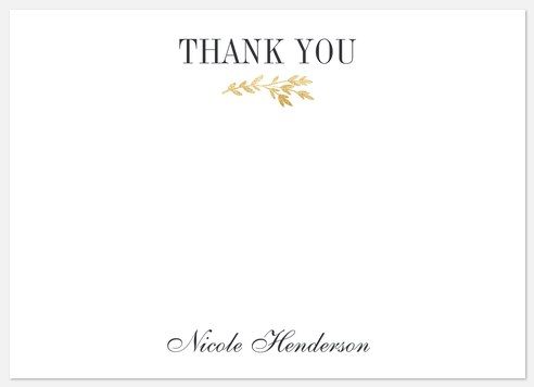 Sweet Laurel Thank You Cards