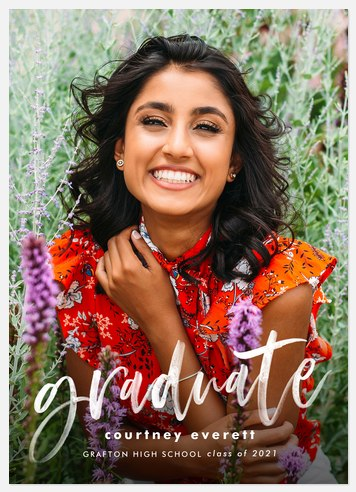 Hopeful Paint Graduation Cards