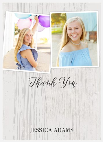Snapshot Collage Thank You Cards