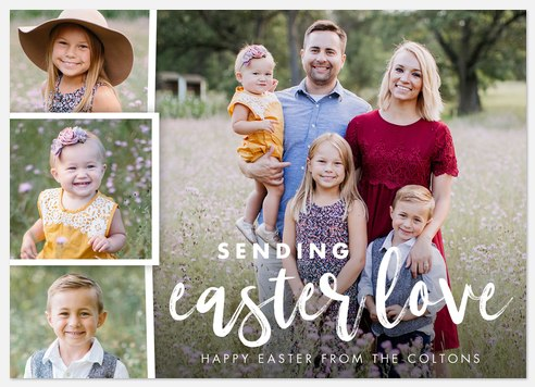 Easter Love Easter Photo Cards