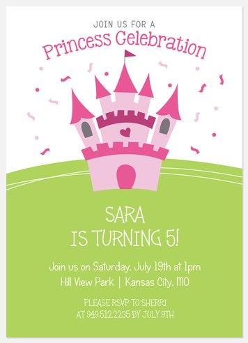 Royal Treatment Kids' Birthday Invitations
