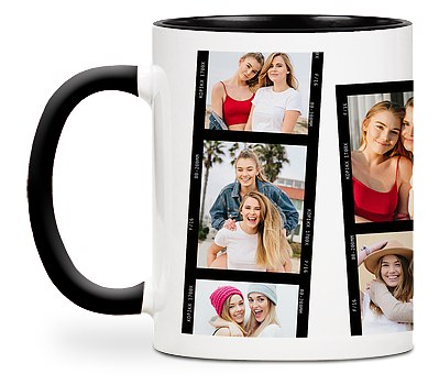 Film Strip Custom Mugs