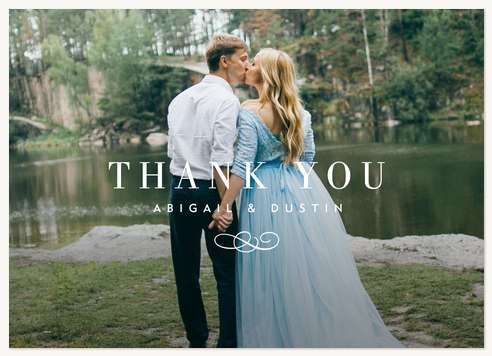 Thankful Overlay Thank You Cards