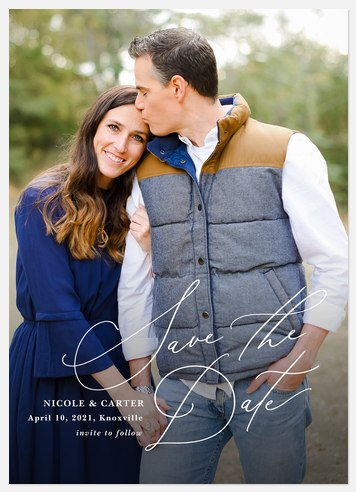 Beloved Save the Date Photo Cards