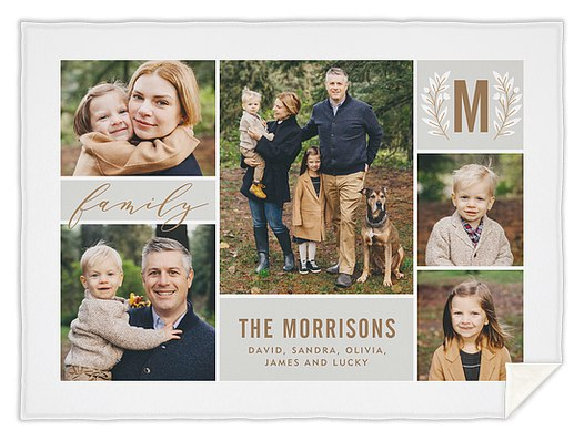 Laurel Collage Custom Blankets