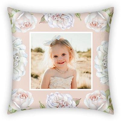 Rose Garden Custom Pillows