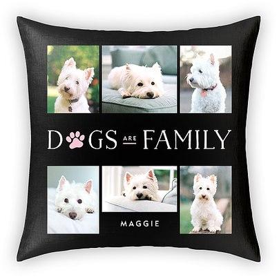 Paw Family Custom Pillows