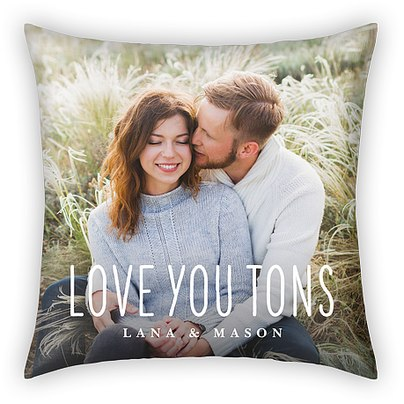 Love You Tons Custom Pillows