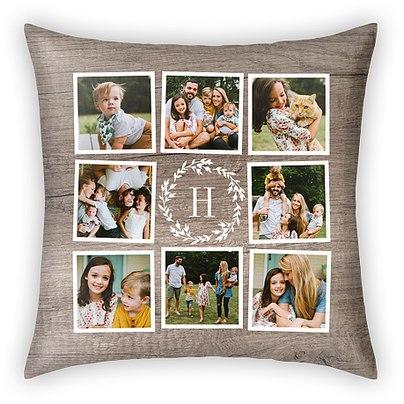 Farmhouse Wreath Custom Pillows