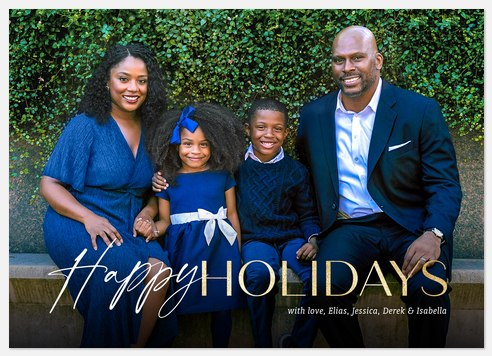 Seasonal Mix Holiday Photo Cards