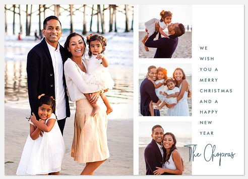 Simple Signature Holiday Photo Cards