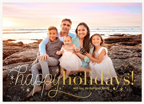 Dazzling Photo Holiday Cards